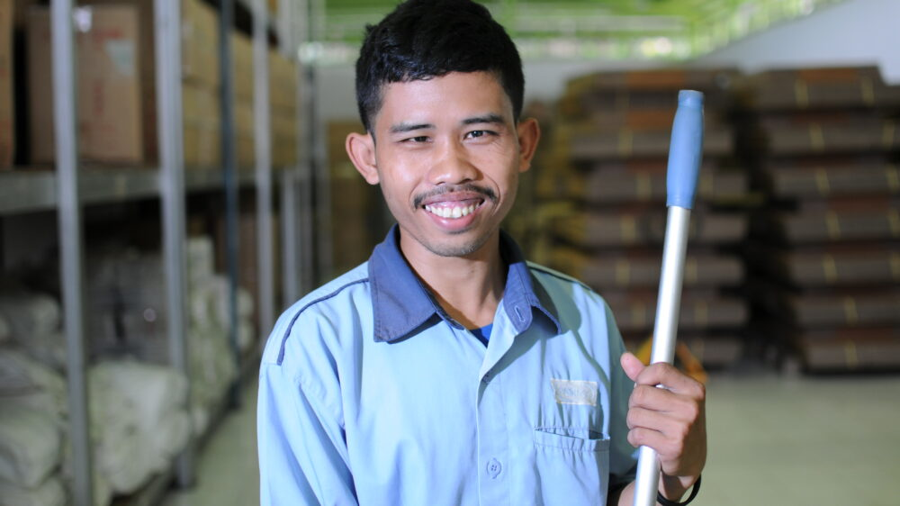 Employing worker with disabilities