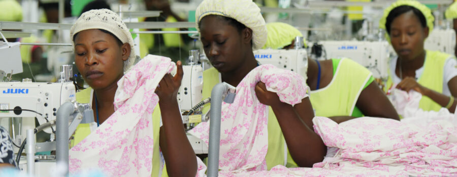 Factory in Haiti