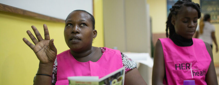 Better living and working conditions for deaf workers in Haiti