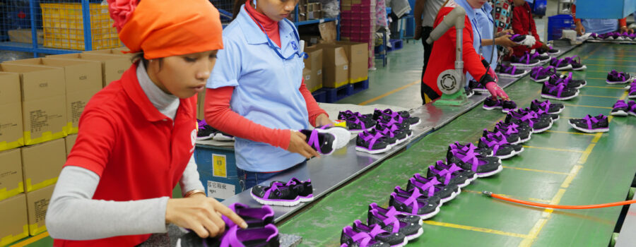 Cambodian garment factories see gains from advancing working conditions