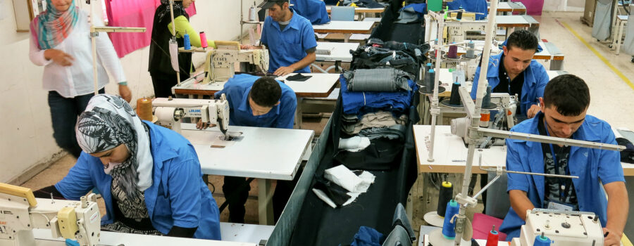 Meet one of the first Syrian refugees who joined Jordan's garment sector
