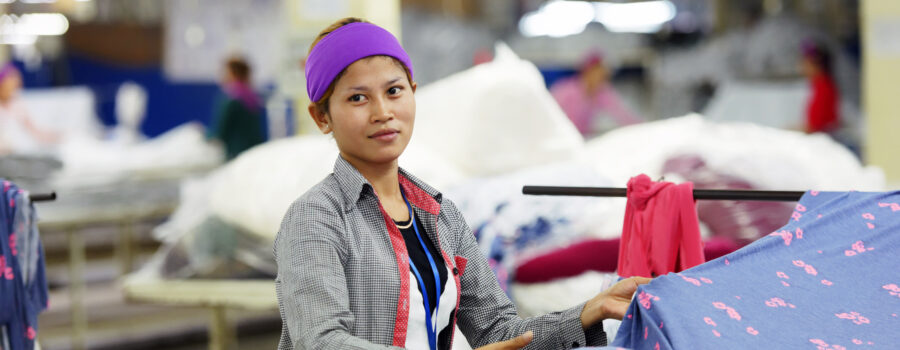 Better Factories Cambodia's Annual Report 2018 highlights notable improvements in working conditions