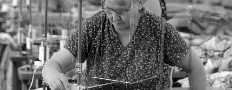 Lives through a lens 100 years: a history of the garment industry