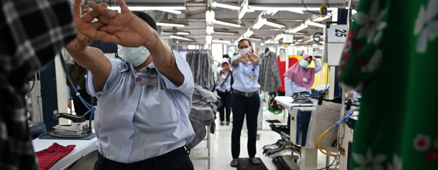 Managing Positive Mental Health during COVID-19 Pandemic in Garment Industry