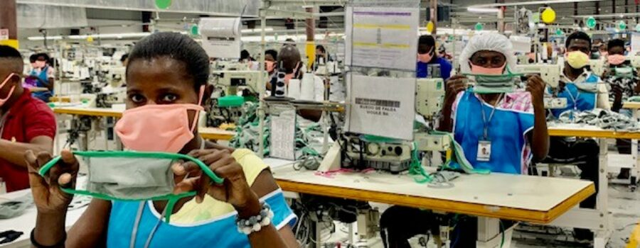 Haiti's garment sector gets a boost from two initiatives