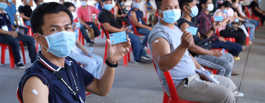 Protecting workers, protecting business: Vaccination campaigns in the garment sector
